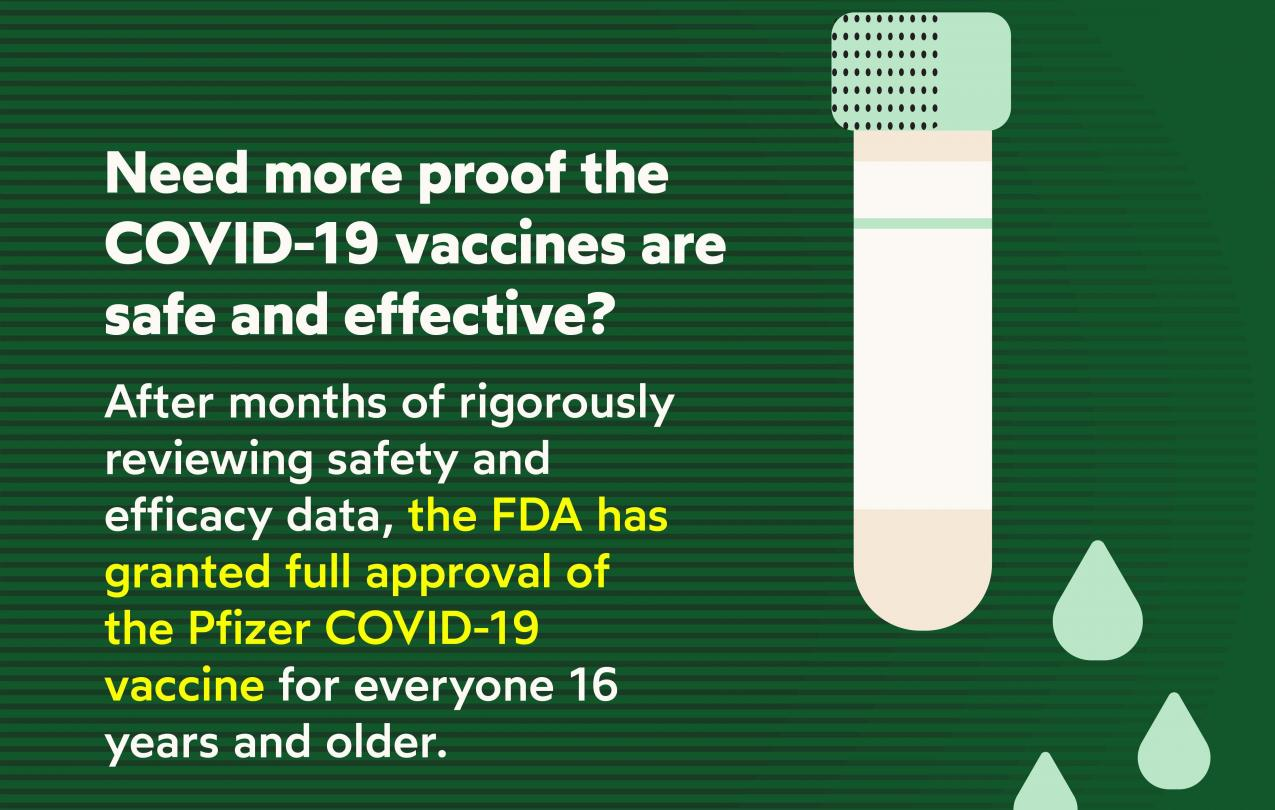 Vaccine approved by FDA