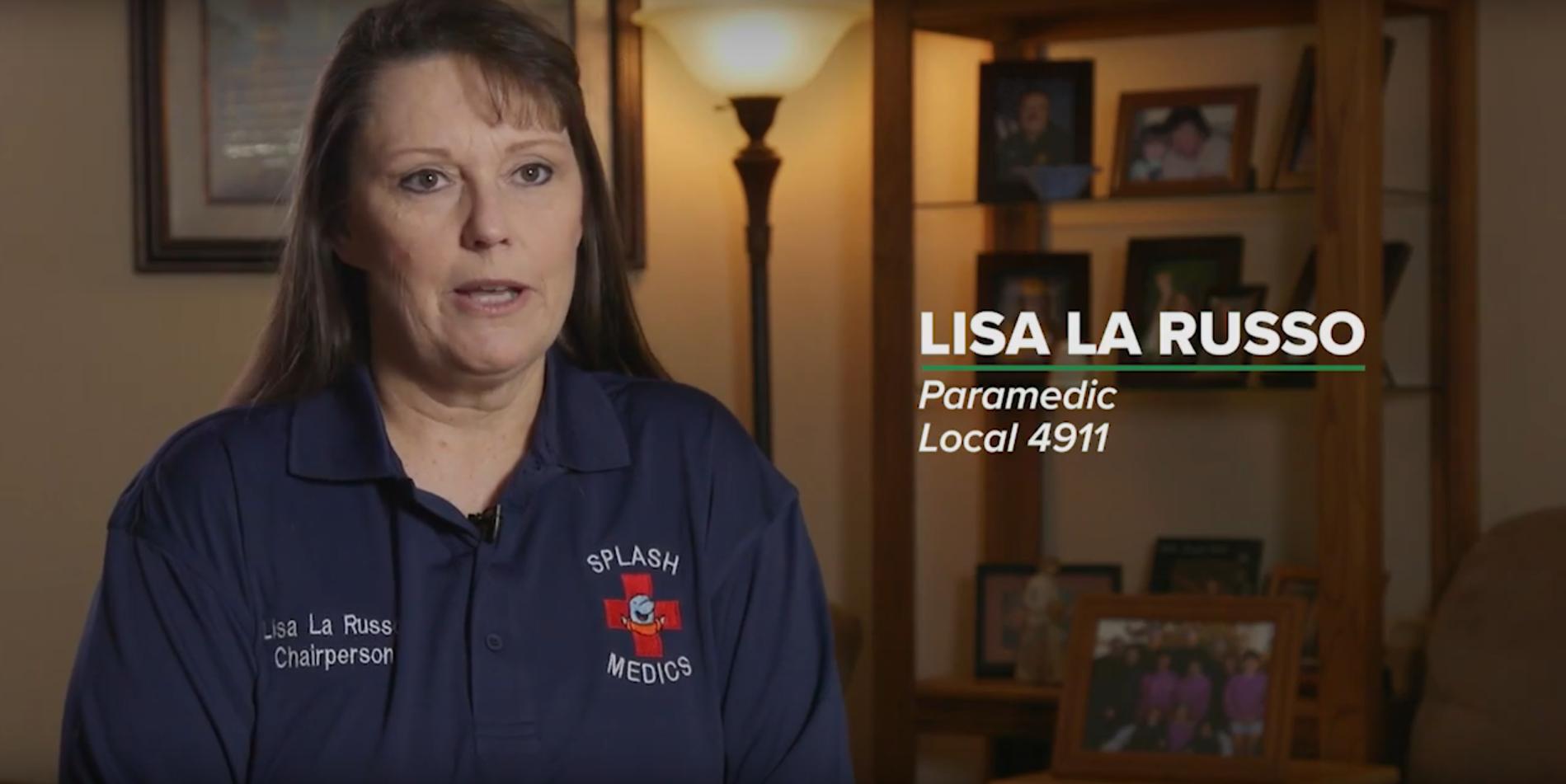Lisa La Russo, Splash Medics
